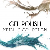 Gel Polish - Metallic Collezione  12 ml