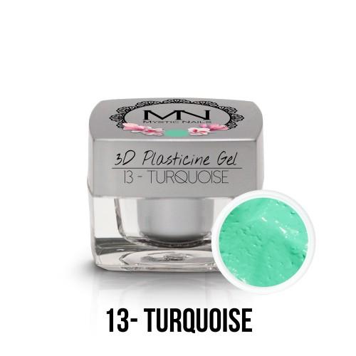 3D Plastilina Gel - 13 - Turquoise - 3,5g