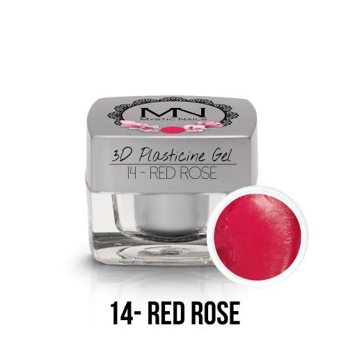 3D Plastilina Gel - 14 - Red Rose - 3,5g