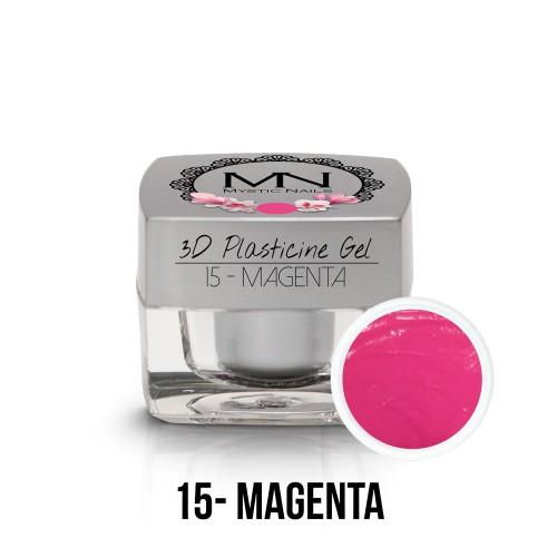 3D Plastilina Gel - 15 - Magenta - 3,5g