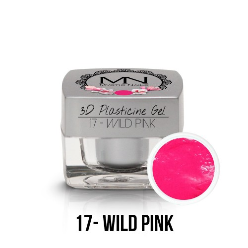 3D Plastilina Gel - 17 - Wild Pink - 3,5g