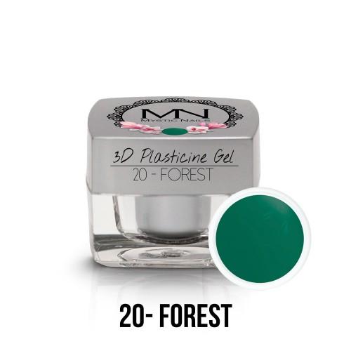 3D Plastilina Gel - 20 - Forest- 3,5g