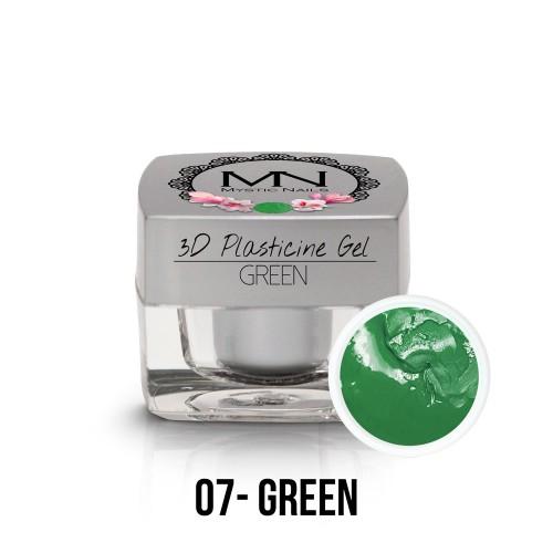 3D Plastilina Gel - 07 - Green - 3,5g