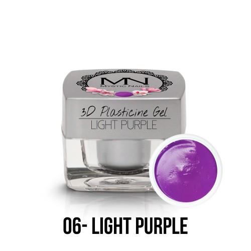 3D Plastilina Gel - 06 - Light Purple - 3,5g
