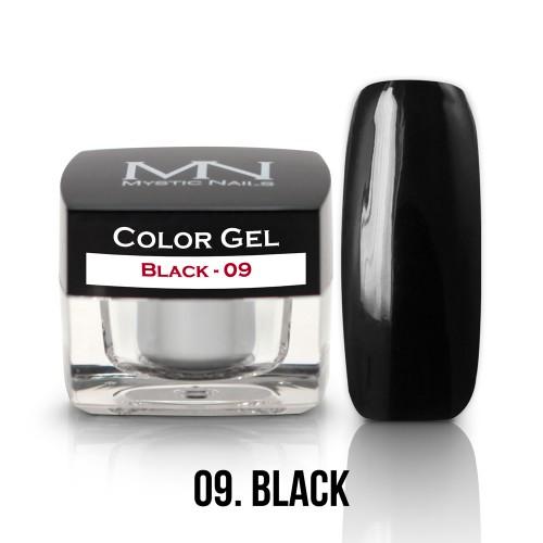 Gel Colorato - 09 - Black - 4g