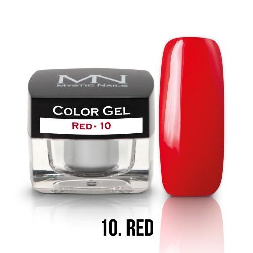 Gel Colorato - 10 - Red - 4g
