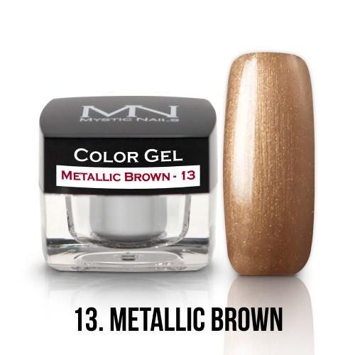 Gel Colorato - 13 - Metallic Brown - 4g
