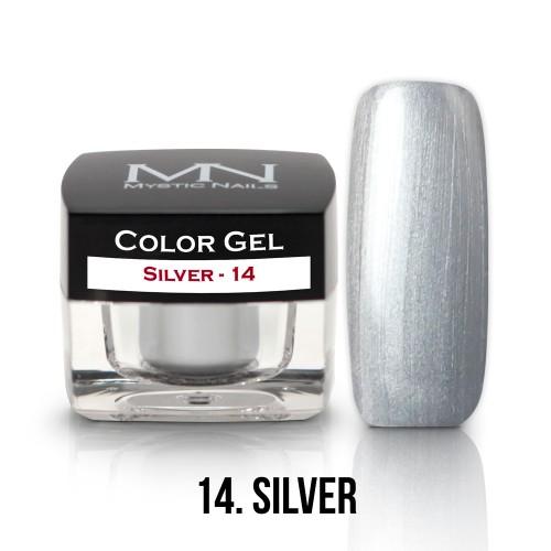 Gel Colorato - 14 - Silver - 4g