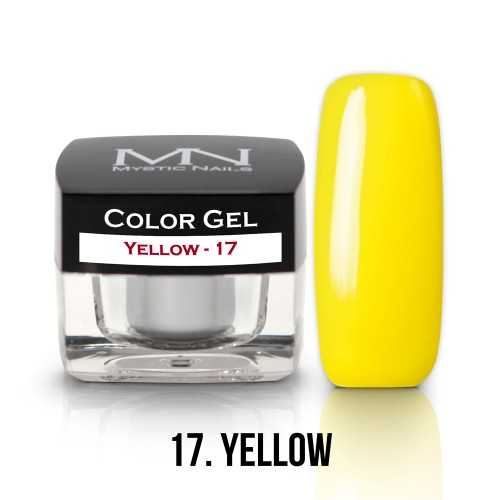 Gel Colorato - 17 - Yellow - 4g