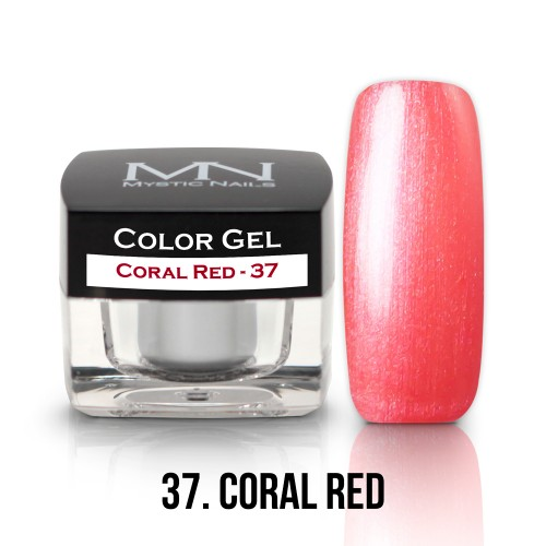 Gel Colorato - 37 - Coral Red - 4g