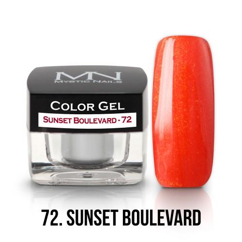 Gel Colorato - 72 - Sunset Boulevard - 4g