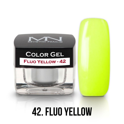 Gel Colorato - 42 - Fluo Yellow - 4g
