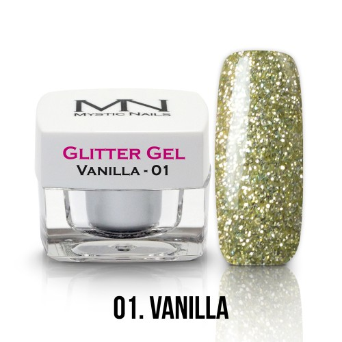 Gel Glitter - no.01. - Vanilla - 4g
