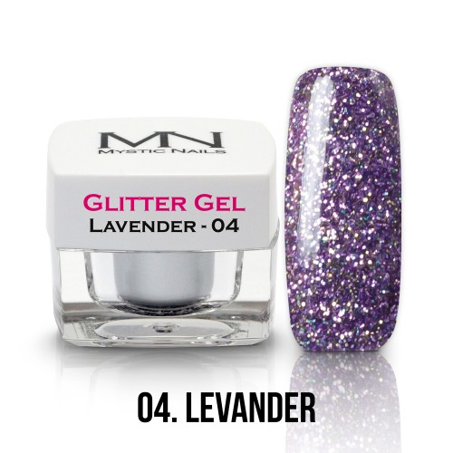 Gel Glitter - no.04. - Lavender - 4g