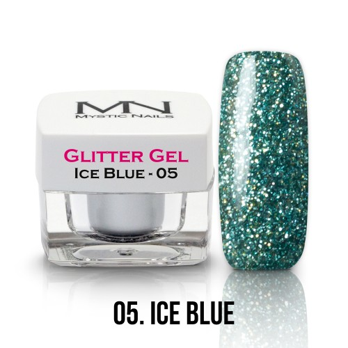 Gel Glitter - no.05. - Ice Blue - 4g