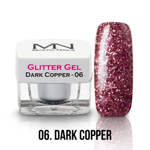 Gel Glitter - no.06. - Dark Copper - 4g