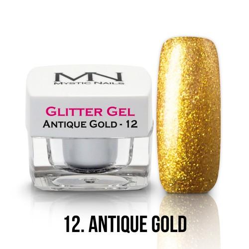 Gel Glitter - no.12. - Antique Gold - 4g