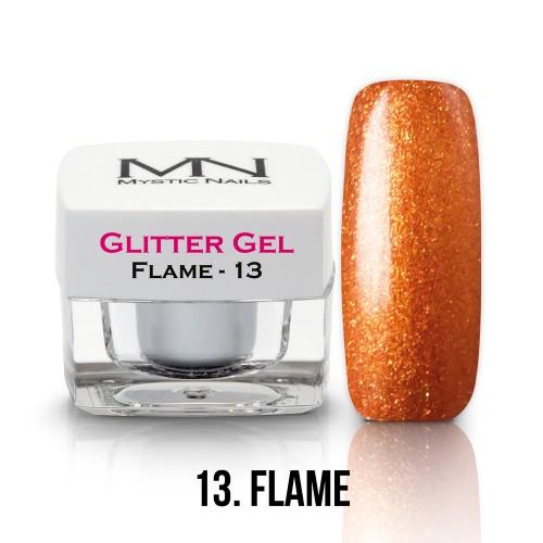 Gel Glitter - no.13. - Flame - 4g