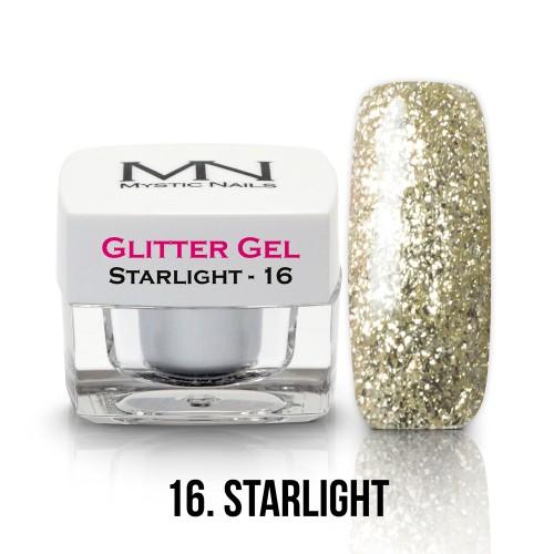 Gel Glitter - no.16. - Starlight - 4g
