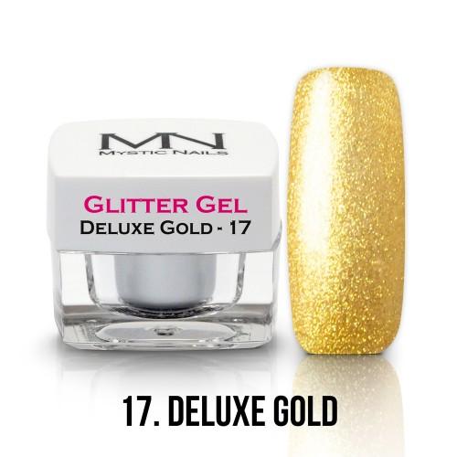 Gel Glitter - no.17. - Deluxe Gold - 4g