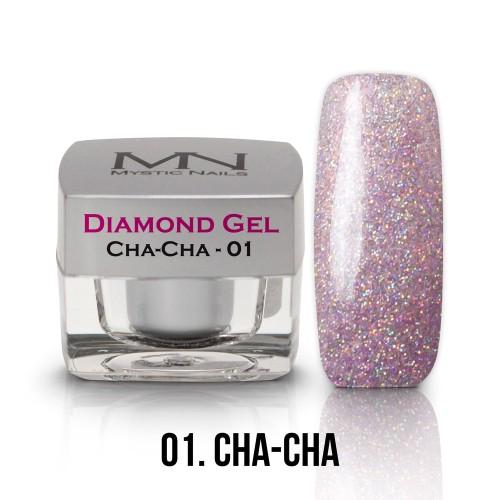Gel Diamond - no.01. - Cha - Cha - 4g
