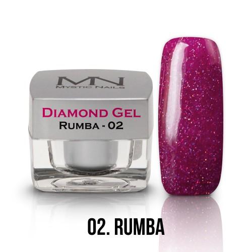 Gel Diamond - no.02. - Rumba - 4g