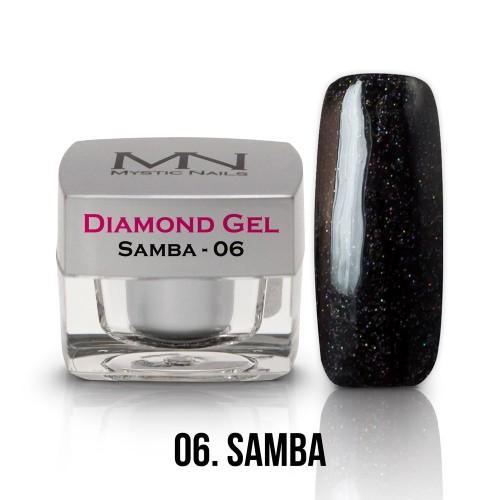 Gel Diamond - no.06. - Samba - 4g