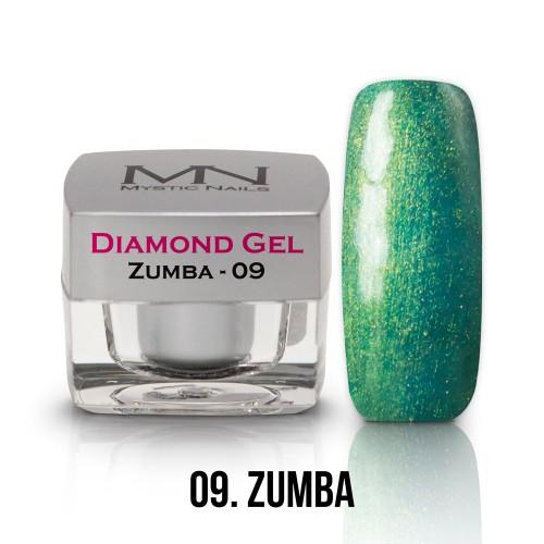 Gel Diamond - no.09. - Zumba - 4g