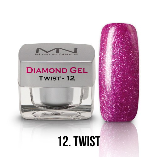 Gel Diamond - no.12. - Twist - 4g