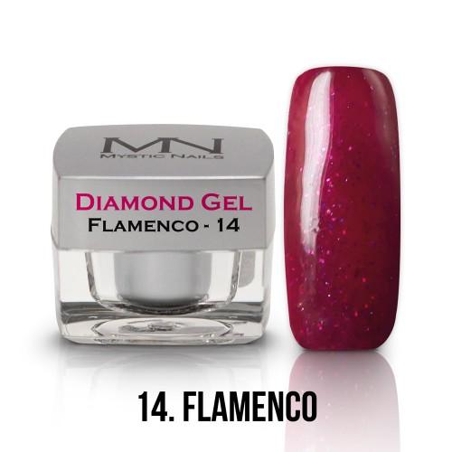 Gel Diamond - no.14. - Flamenco - 4g