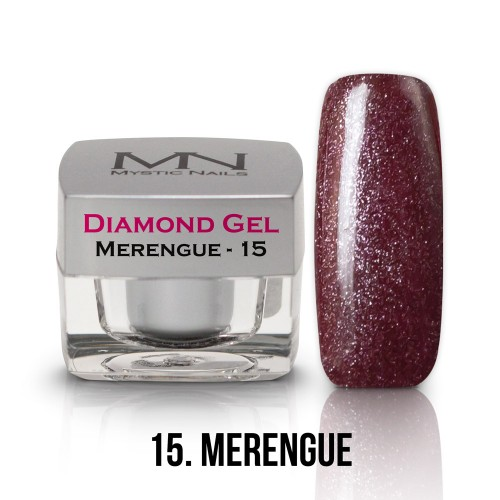 Gel Diamond - no.15. - Merengue - 4g