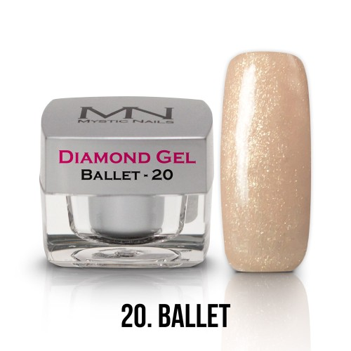 Gel Diamond - no.20. - Ballet - 4g