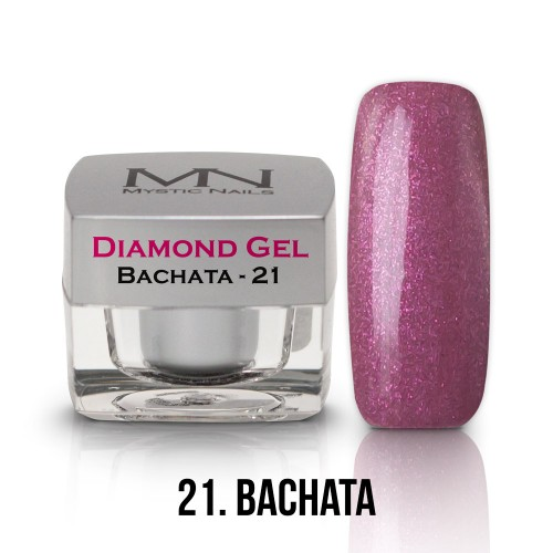 Gel Diamond - no.21. - Bachata - 4g