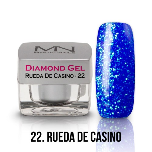 Gel Diamond - no.22. - Rueda De Casino - 4g