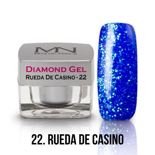 Gel Diamond - no.22. - Rueda De Casino - 4g