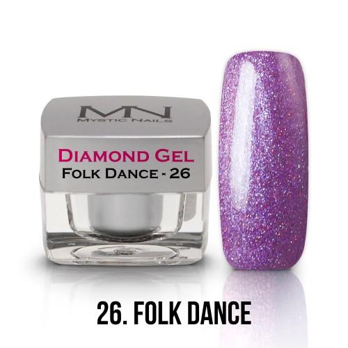 Gel Diamond - no.26. - Folk Dance - 4g