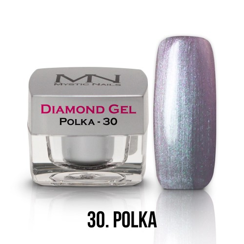 Gel Diamond - no.30. - Polka - 4g
