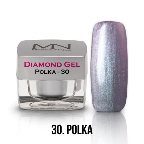 Gel Diamond - no.30. - Polka - 4g