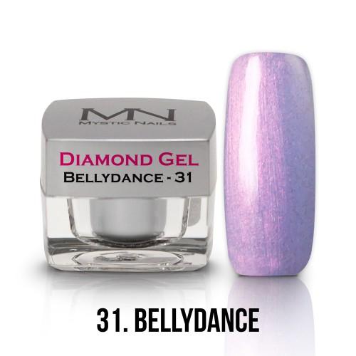 Gel Diamond - no.31. - Bellydance - 4g