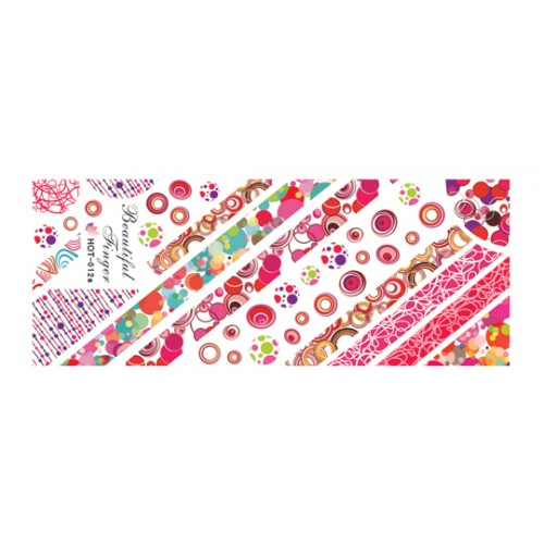 Nail Tattoo - HOT - 012a