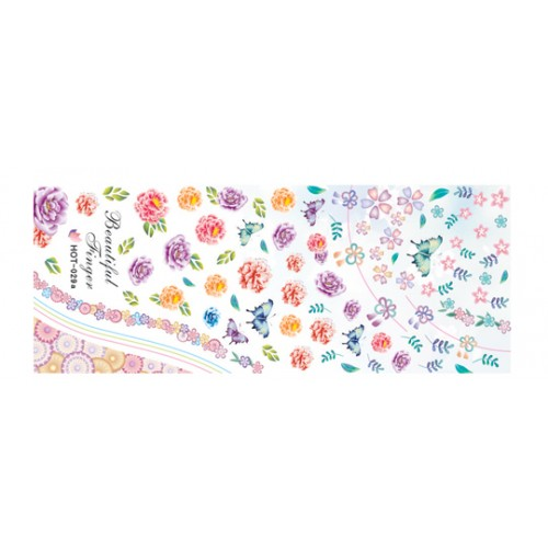 Nail Tattoo - HOT - 029a