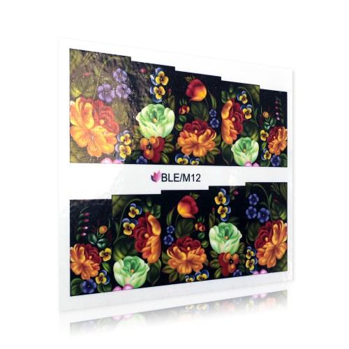 Adesivo Motivo Floreale - BLE/M12