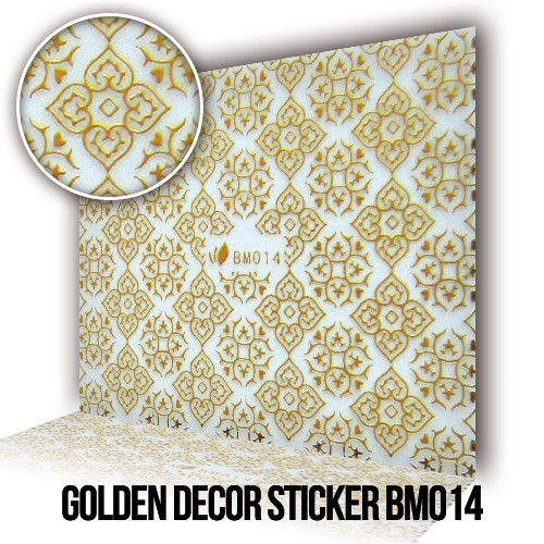 Adesivo Decorativo Dorato BM014