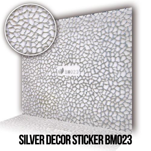 Adesivo Decorativo Argento BM023