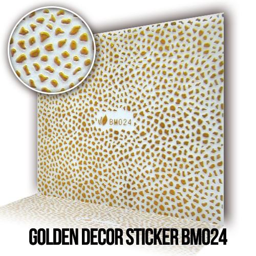 Adesivo Decorativo Dorato BM024