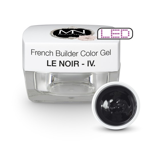 French Builder Color Gel - IV. - le Noir -15g