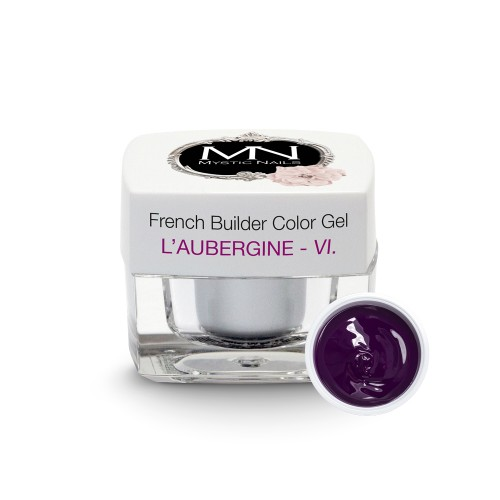 French Builder Color Gel - VI. - l'Aubergine - 4g - Limited Edition