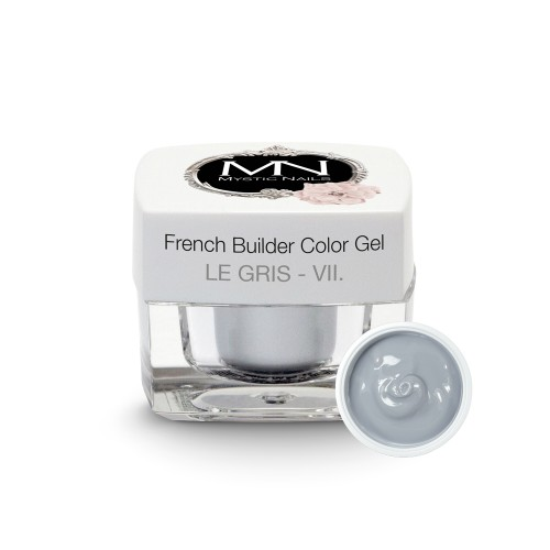 French Builder Color Gel - VII. - le Gris - 4g - Limited Edition