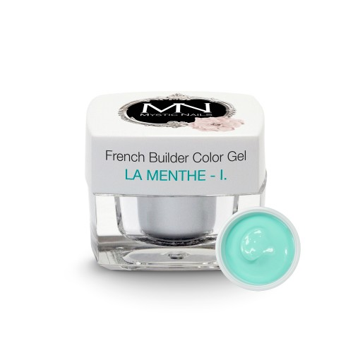 French Builder Color Gel - I. - la Menthe - 4g - Limited Edition