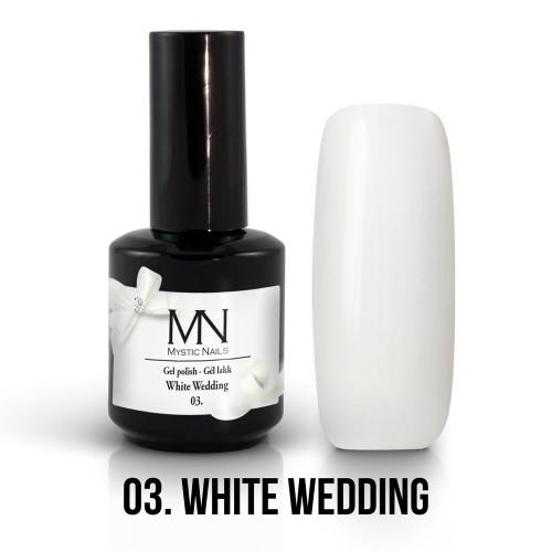 Gel Polish 03 - White Wedding 12ml